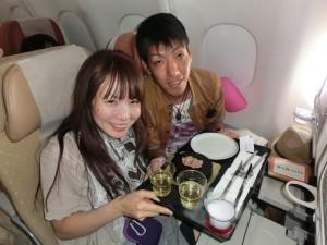 シンガポール航空のハネムーンサービス