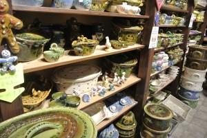 こちらがスフレンハイムの陶器