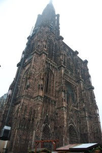 街のシンボルの大聖堂