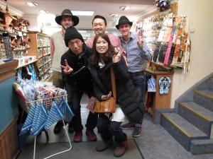 日本人が経営している雑貨屋さん