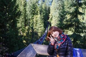 キャピラノ渓谷での大自然